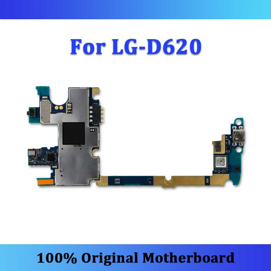 Seluruh Selesai Asli Logic BOARD UNTUK LG G2 Mini D620 Papan Utama Dibuka dengan Chip Teruji Mainboard Gratis Pengiriman