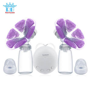 Electric Breast-Pump Milk-Bottle Baby Bpa-Free Real-Bubee Powerful with Infant USB Single/double