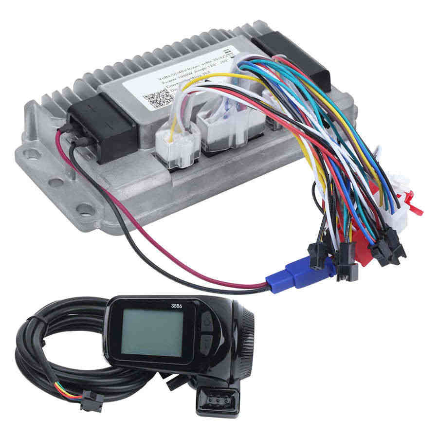 1000W Brushless Controller Sine Waves 36V-48V Universal 3 Cast Aluminium Shell