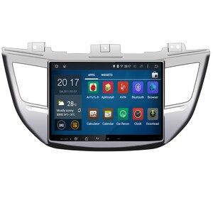 DSP IPS Android 10 4 Гб + 8 ядер 32 ГБ Автомобильный dvd-плеер GPS карта RDS радио wifi Bluetooth 4,2 для Hyundai IX35 TUCSON 2015 2016 2017