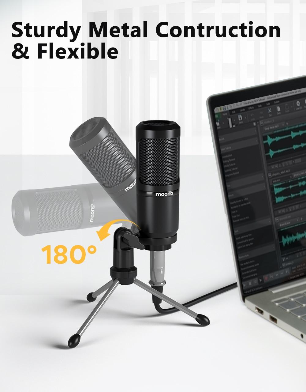 MAONO AU-PM360TR Condenser Microphone 9
