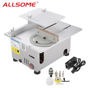 ALLSOME DC Table Saws DIY Wood Working Polisher Machine