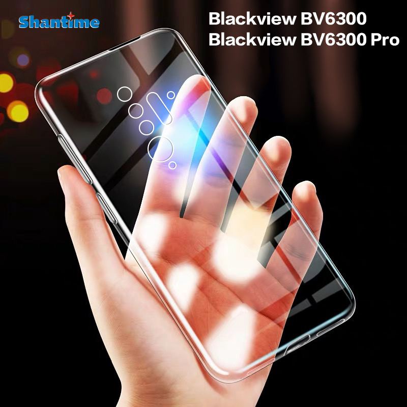 Ультратонкий Прозрачный мягкий чехол из ТПУ для Blackview BV6300 Pro