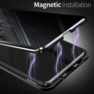 Image 4 - Funda de privacidad para Samsung Galaxy S20, protector de vidrio templado Ultra magnético para Samsung Note 10 S10 S20 Plus S10E