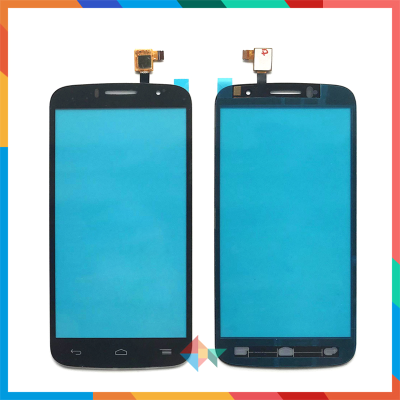 10 шт./лот Высокое качество для Alcatel One Touch Fierce 2 OT7040N OT7040T 7040N сенсорный экран дигитайзер Передняя стеклянная линза сенсорная панель