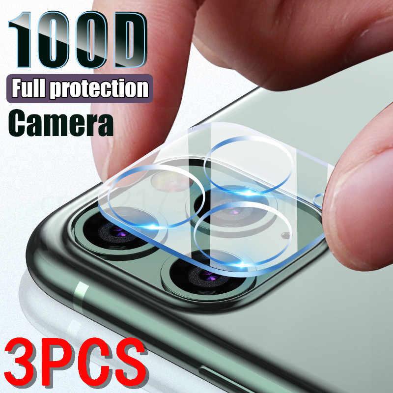 3 шт. Защитное стекло для камеры для iPhone 11 12 Pro Max X XR XS MAX защита экрана на iPhone 11 7 8 Plus SE стекло для объектива камеры