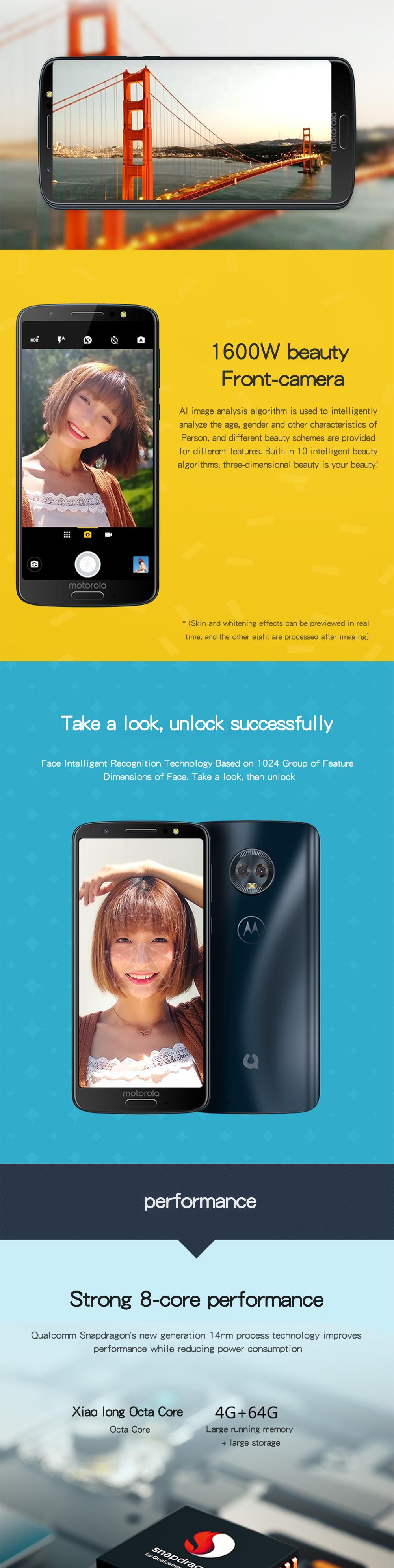 Teléfono Inteligente Moto G6 3