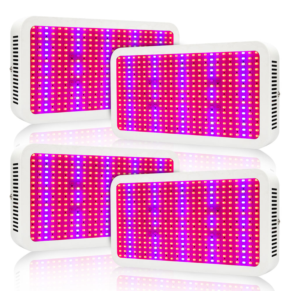 (4pcs/Lot) 400W Full Spectrum LED Grow Lights For Hydroponics Cultivation Veg Flower Greenhouse Indoor Plants Grow Tent Lighting