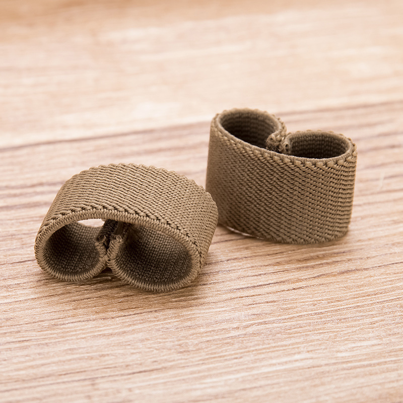 Twill Elastic Black Belt Ring Belt Loops Canvas Belt Tail Clip Belt Clip Belt Clip Accessories