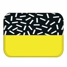 Классический Дизайнерский ковер из кораллового флиса, цветной резиновый коврик, нескользящий ковер для украшения спальни.