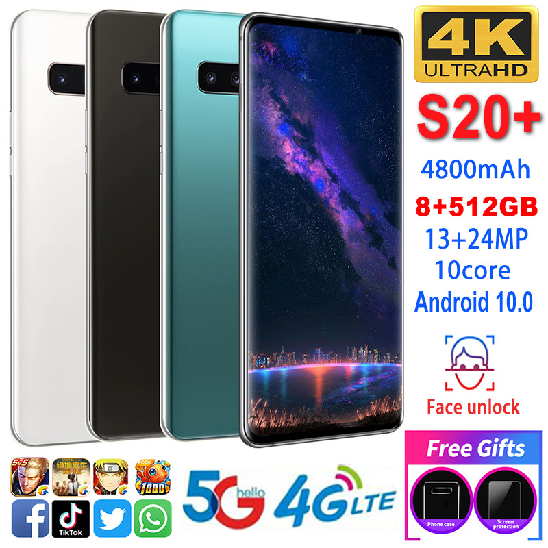 Smartphone S20 Phones MTK6595 Deca Core 6.5