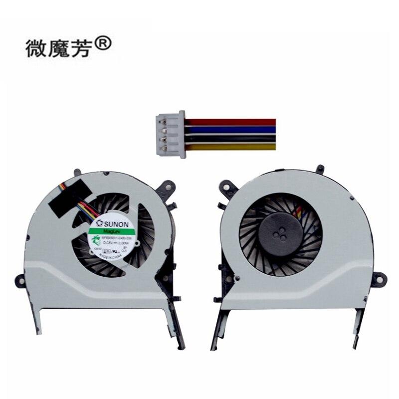 New Cpu Cooling Fan For ASUS X455LD X455CC A455 A455L K455 X555 R455l X555LD W519L A555L Y583L K555 MF60070V1-C370-S9A