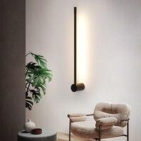 Bathroom mirror modern wall lamp LED room lamp Nordic living room lamp bedroom dresser interior decorative lamp lighting