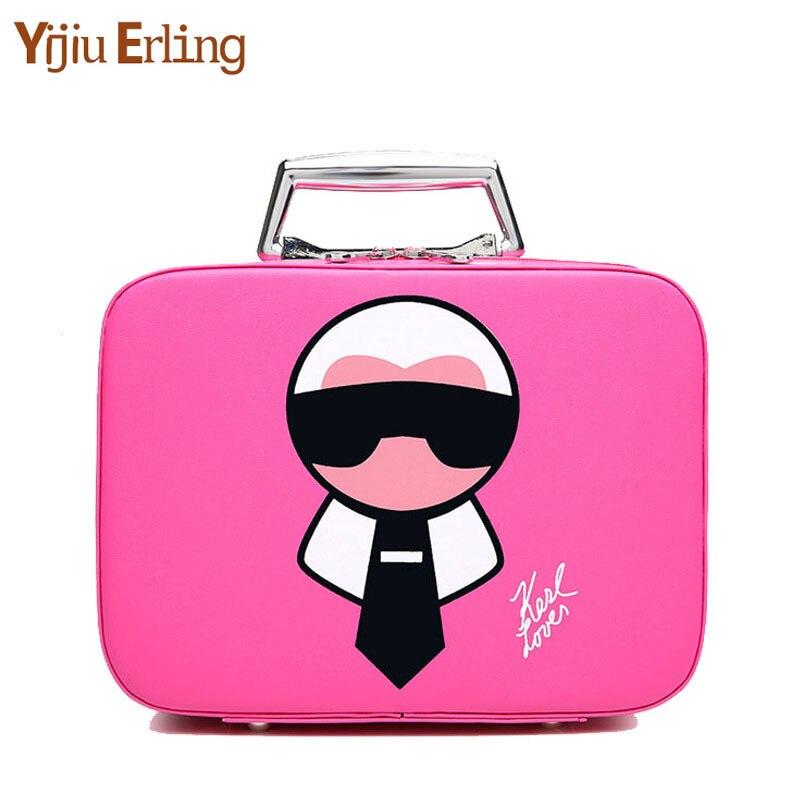 CartoonTravel Cosmetic Bag Large-capacity Portable Fashion Cosmetic Bag Bathroom Storage Waterproof Cosmetic Case Make Up Case