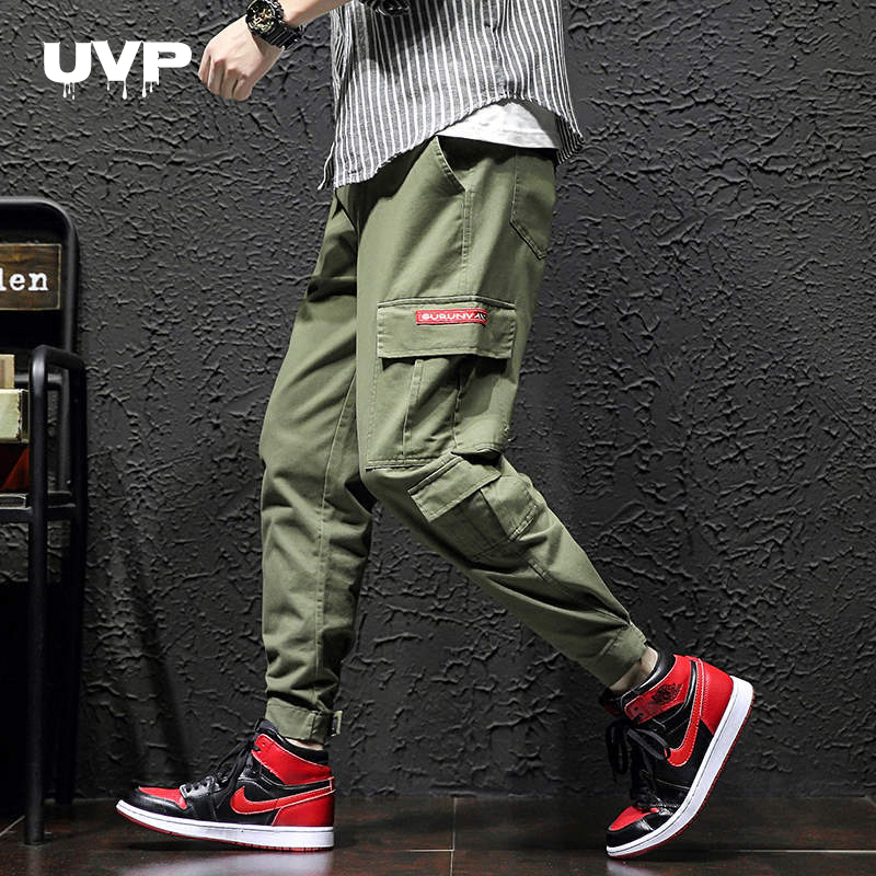 Streetwear Cargo Pants Men's Sweatpants Male Tracksuit Bottoms Hip Hop Joggers For Men Sports Pants Men's Trousers 2020 New