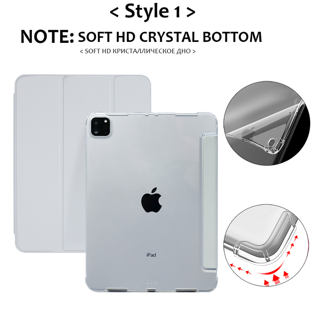 For iPad Air 4 Case 2020 iPad 10.2 Case 7 8th Generation Case Pro 11 2020 Mini 5 10.5 Air 2 9.7 6th funda iPad Pro 11 2021 Case 3