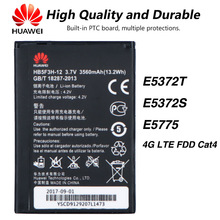Original Huawei HB5F3H-12 WIFI Router battery For Huawei E5372T E5372S E5775 4G LTE FDD Cat4 original replacement battery for huawei e5336 e5330 e5375 ec5377 e5373 4g lte wifi router hb5f2h authenic battery 1780mah