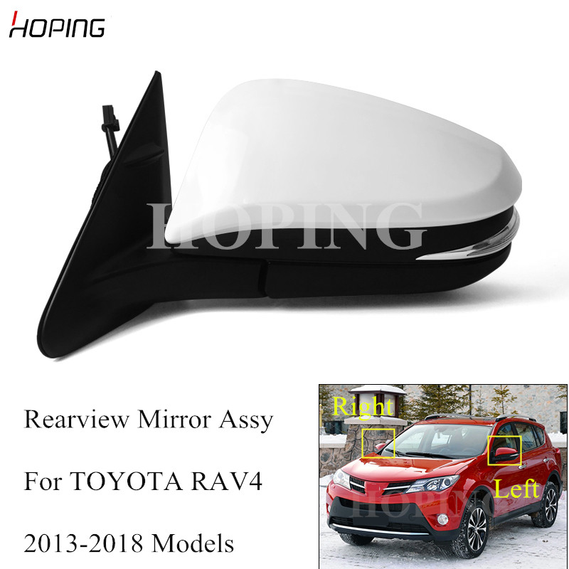 TOYOTA RAV 4 Avensis Verso 2001-/>2003 LH SIDE DOOR//WING MIRROR GLASS  CONVEX