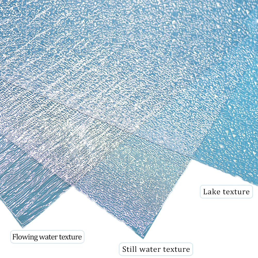 Simulation Of Water Ripples And Flowing Water Surface Material Simulation Of Rivers And Lakes 3pcs Model Toy Sand Table 3 Styles
