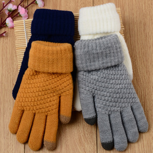 Image 5 - Touch Mobile Screen Gloves Knit Couple Gloves Comfortable and Stylish Outdoor Warm Winter Gifts