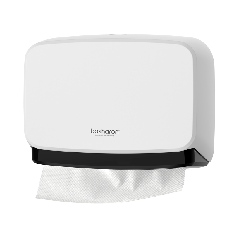 Wall Mounted Paper Towel Dispenser Bathroom Tissue Holder Washroom Commercial Hand Towel Dispensers For Multifold Paper Towels