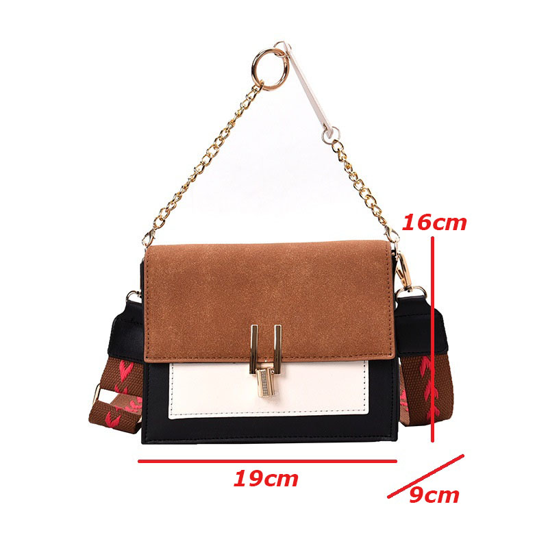 Image 5 - 2020 Luxury Handbags Vintage Small PU Leather Crossbody Bags For Women Shoulder Messenger Bags Chain Designer Female Flaps PurseTop-Handle Bags   -