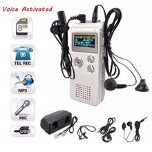 Lithium Battery 8GB Digital Voice Recorder MP3 Music Player Recording Pen With 3.5pie Stereo Jack Headphone Microphone