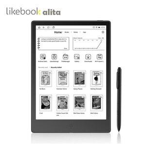 Image 1 - לשלוח מהודו LIKEBOOK ALITA קורא ספר אלקטרוני BOYUE 10.3 שטוח מסך כרטיס חריץ 4G/32G eReader אנדרואיד 8.0 e דיו ספר תמיכת OTG