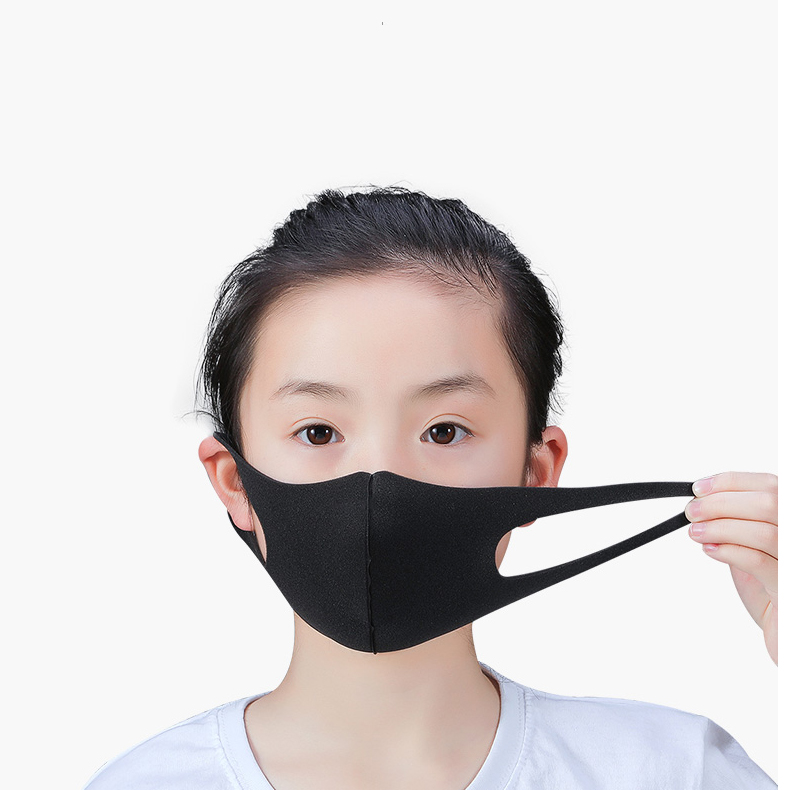 5 Pcs Anti-Dust Cold Prevention Mask Washable Earloop Mask Outdoor Anti Dust Mouth Face Mask Adult Kids Health Dustproof Mask