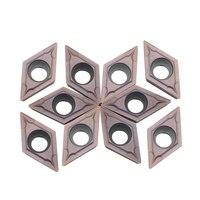 Carbide insert DCMT11T304 VP15TF UE6020 US735 CNC machine gereedschap draaien tool draaibank snijgereedschap auto blade-in Draaigereedschap van Gereedschap op