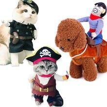 Забавный кот одежда в ковбойском стиле полицейский Рождество