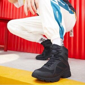 Image 2 - الجمل الشتاء أحذية رجالي الدافئة جلد طبيعي المشي في الهواء الطلق الرجال الأحذية عدم الانزلاق لينة الرجال القطن الثلوج الأحذية للماء