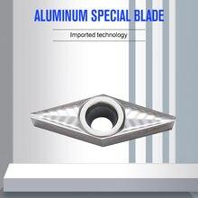 YOUSCARD – outils de tour à métaux, lame de coupe en aluminium, outils de tournage, outil de coupe VBGT110304 VCGT160404, 10 pièces
