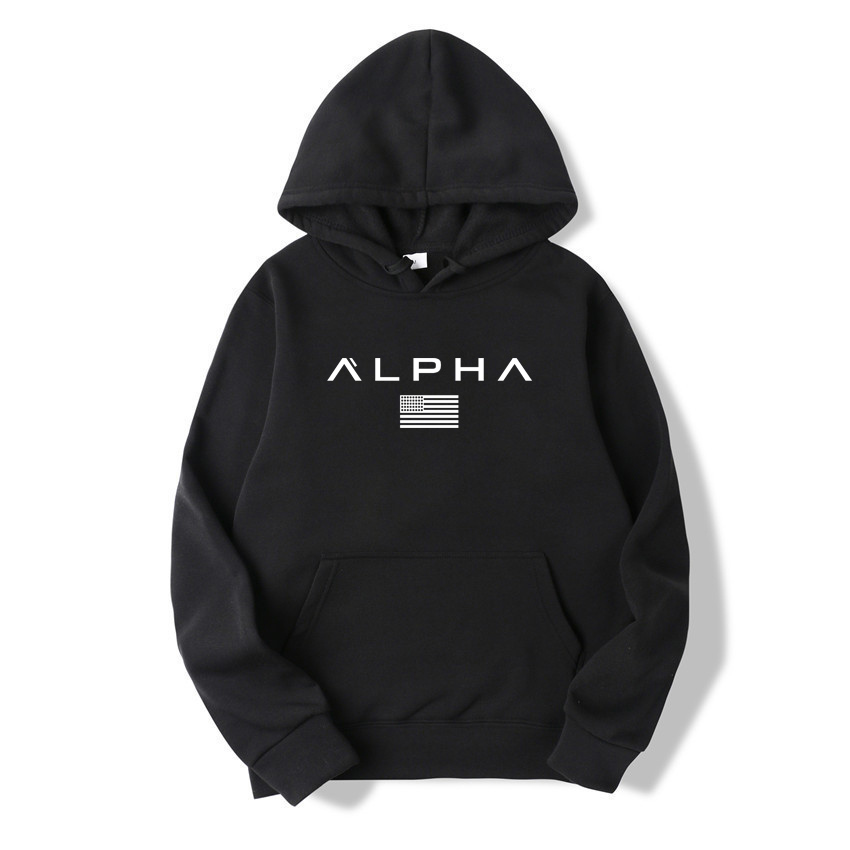 2019 New Autumn Winter Fashion Color Hoody Male Large Size Warm Fleece Coat Men Brand Hooded