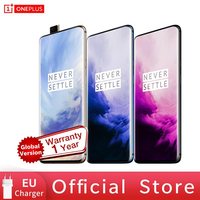 OnePlus 7 Pro Global Version Unlock Phone Smartphone 48 MP Camera Snapdragon 855 Octa Core Android Mobile UFS 3.0 NFC