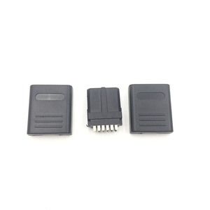 Image 3 - 20SETS  For SNES N64 12Pin Multi Out Port   Connector Male Cable  Connector/Plug AV Repair Interface Adapter For Game Cube
