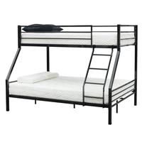 Portable Bunk Bed With Oblique Ladder Black Rubber Pad Ladder Black Rubber Cushion Ladder Children Bunk Bed Safe And Strong