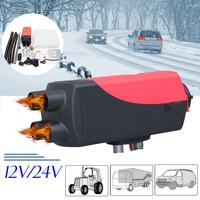 5kw 12v Parking Heater Automobile Air Heater Electric Vehicle Parking Warm Air Blower Car Mounted Warmer For Trucks Bus Trailer