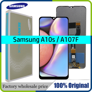 "Image 1 - 6.2 ""Original AMOLED Für Samsung galaxy A10s lcd Digitizer A107/DS A107F A107FD A107M Display Touchscreen Digitizer montage"