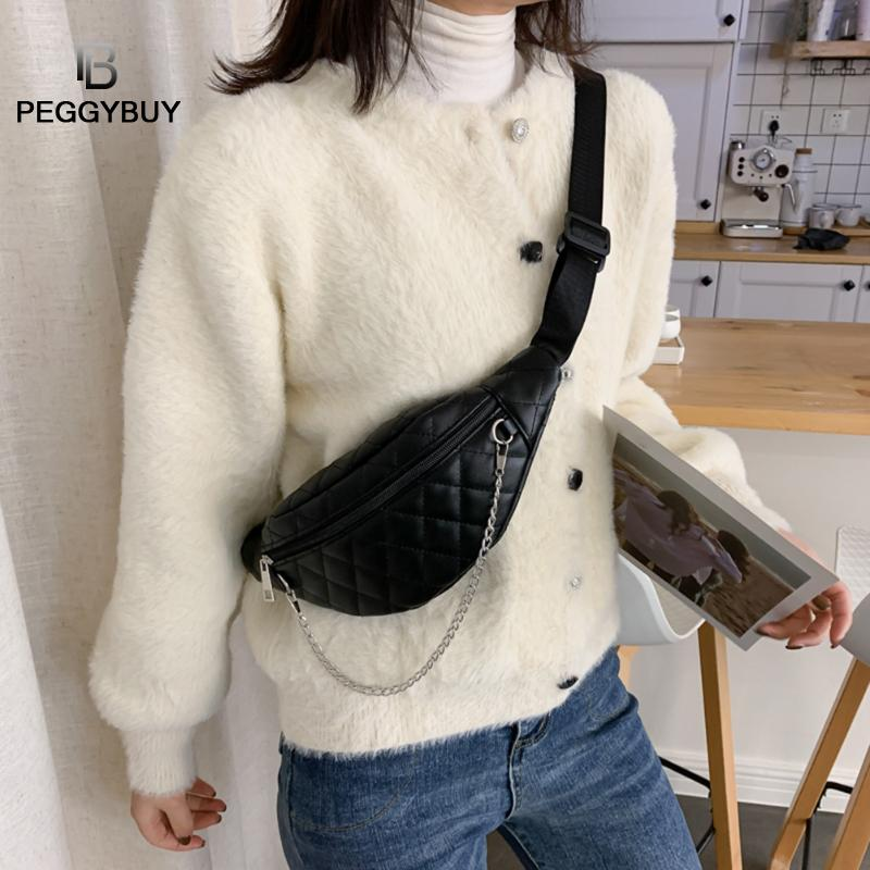 Fashion Leather Women Chest Pack Money Pouch Casual Crossbody Shoulder Bag Fanny Packs Casual Purse Wallet Chest Belt Bag