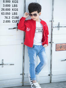 Jeans Single-Pants Boys' Children's And New Autumn Wear Spring for The-Age-Of-3 4/5/6/..