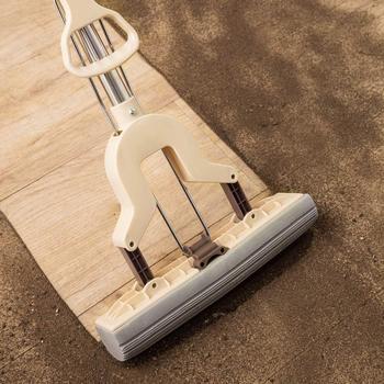 Mopa, esponja, mopa, con boquilla de microfibra autoexprimible sin lavarse las manos, herramienta de limpieza de cocina para Baño
