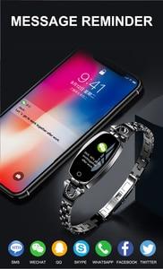 Image 5 - LEMFO H8 2019 Vrouwen Smart Horloge Waterdicht Hartslagmeter Calorieën Camera Afstandsbediening SmartWatch Vrouwen Gift voor Meisjes