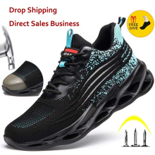 Sneakers Ryder Safety-Shoes Tennis Work-Boots Steel Outdoor Breathable Indestructible