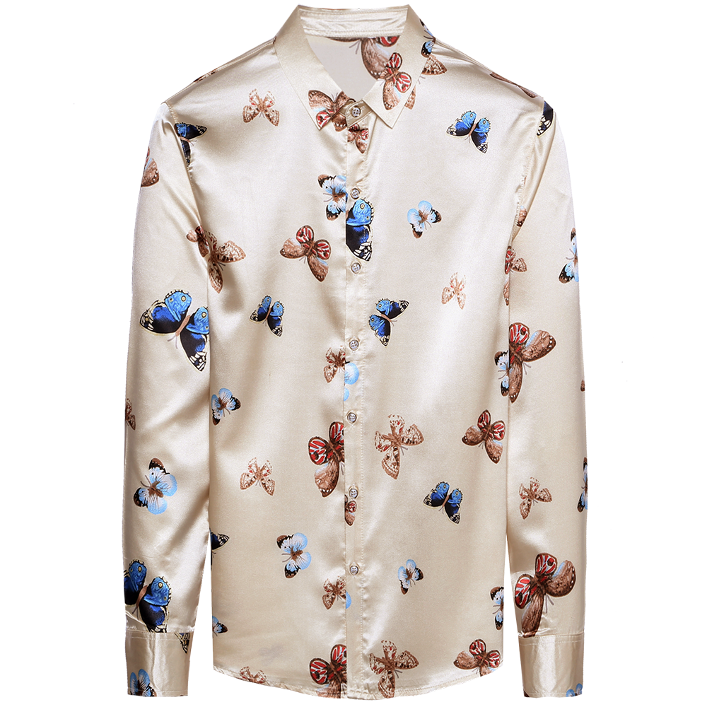 2020 brand long sleeve men social shirt streetwear casual butterfly shirts dress mens slim regular fit clothes fashions 90323 3