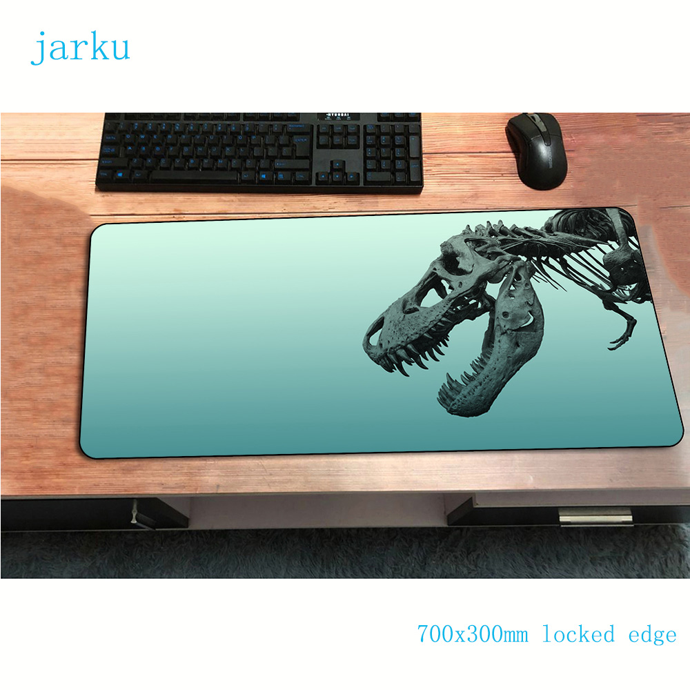 Dinosaur Mouse Pad New Arrival 700x300x2mm Gaming Mousepad Present Notbook Desk Mat Wrist Rest Padmouse Games Pc Gamer Mats