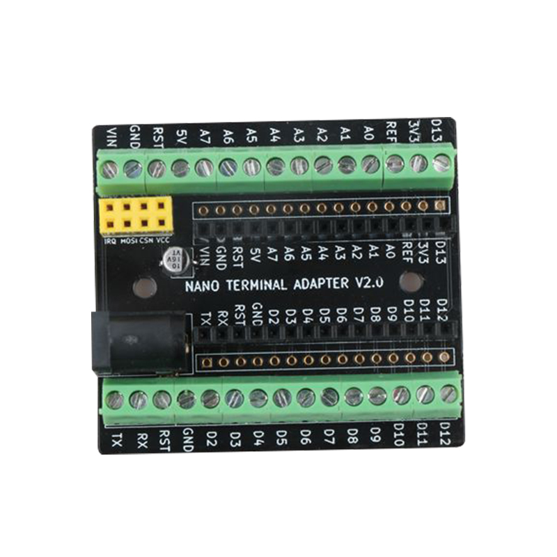 Suitable For Arduino With DC NRF2401+ Expansion Interface Compatible With Development Board Nano V3.0 Expansion Board