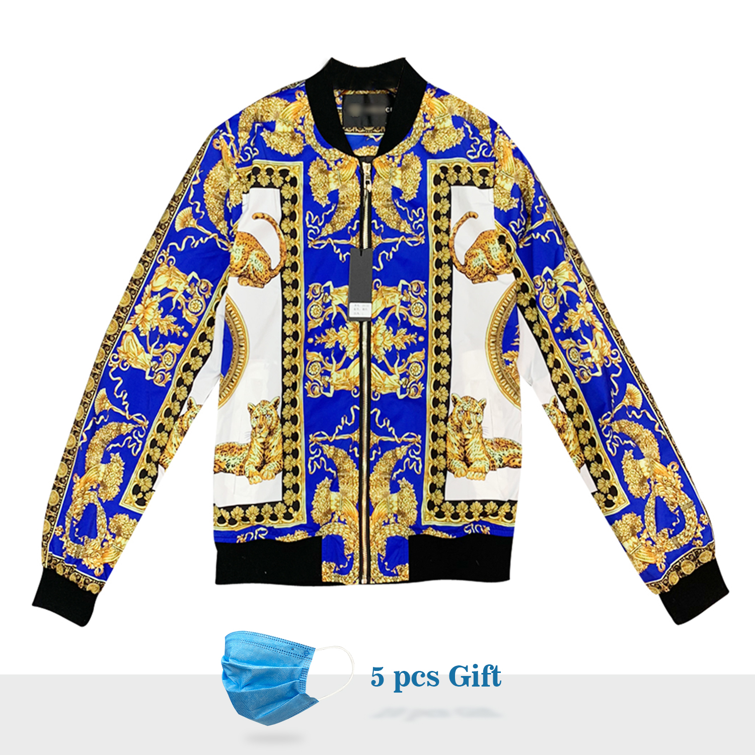 2020 New Luxury Brand Eden Park Tommi  Men Jacket Digital Print With Zipper For Winter And Spring Free Shipping Special Pattern