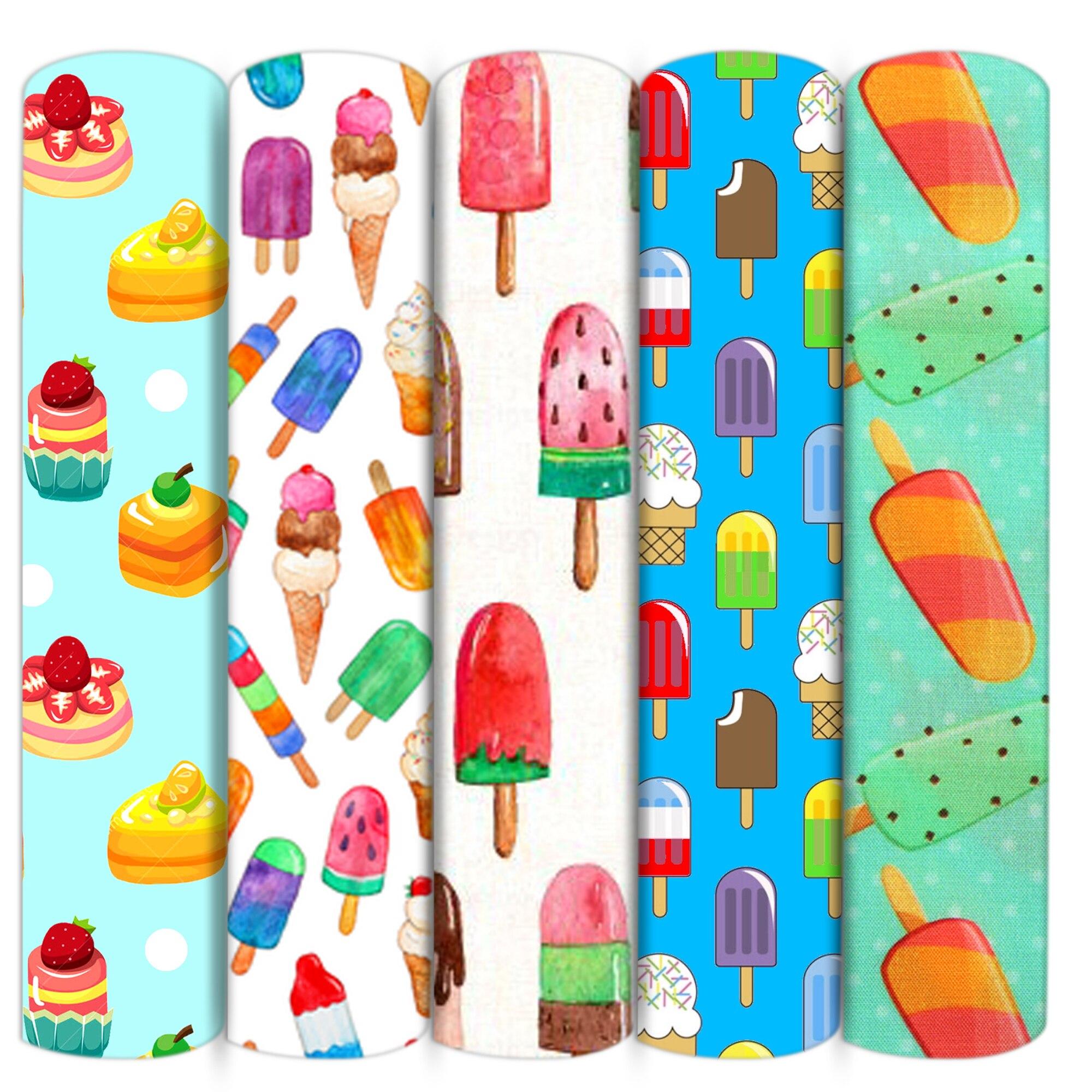 Мороженое кекс полиэфир хлопчатобумажной ткани, из кусков, для шитья кукол стеганые ткани рукоделие Материал, c16106
