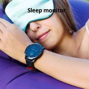 Image 4 - SENBONO reloj inteligente deportivo S10plus IP67 para hombre, deportivo completamente táctil, resistente al agua, con rastreador deportivo de ritmo cardíaco, para IOS, 2020